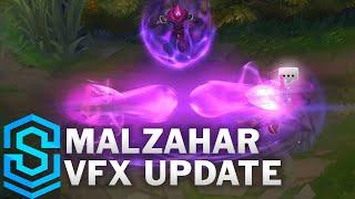 Malzahar Visual Effect Update Comparison - All Skins   League Of Legends
