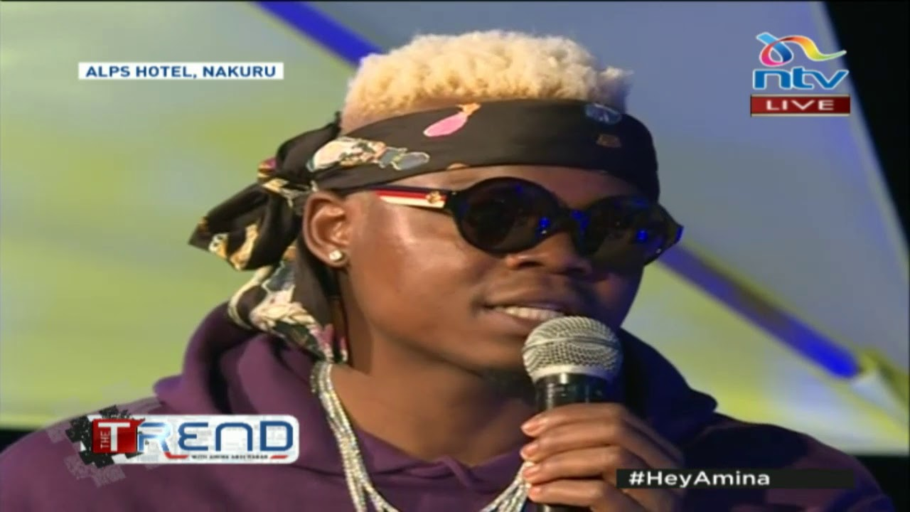 Tanzanian artist Harmonize on making it big in the music industry despite  humble beginnings