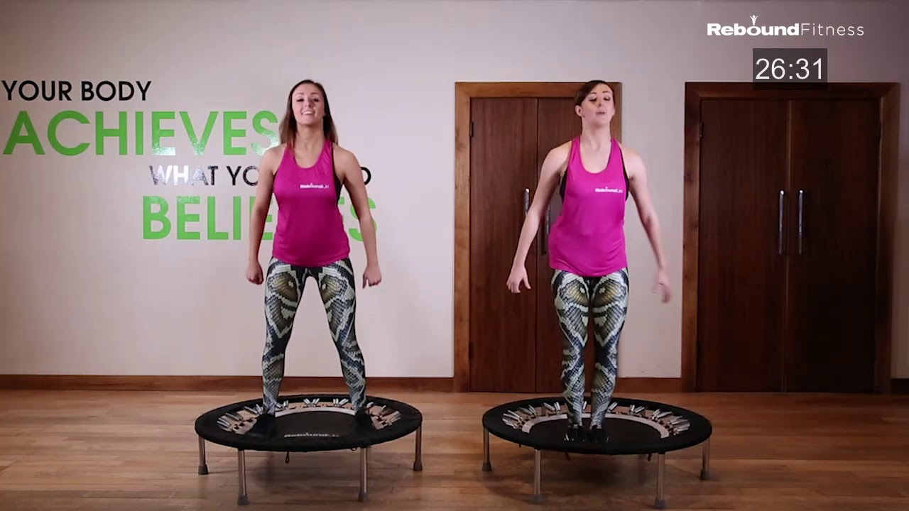 Rebound Trampoline Workout for Beginners | Lose Weight ...