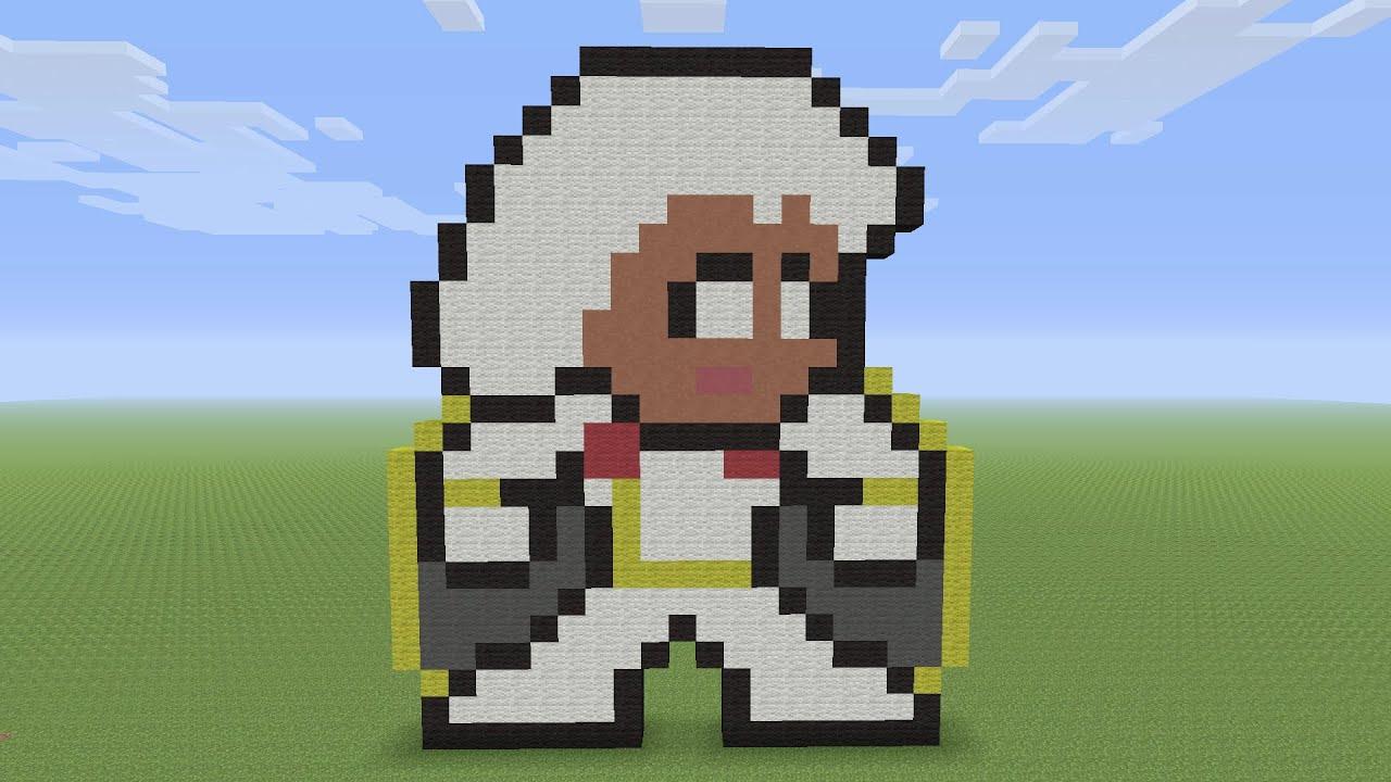 Minecraft Pixel Art Storm From X Men