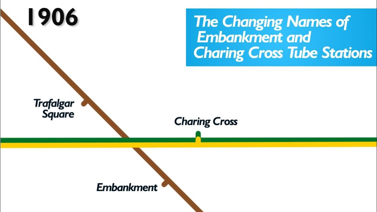 Embankment Used To Be Called Charing Cross