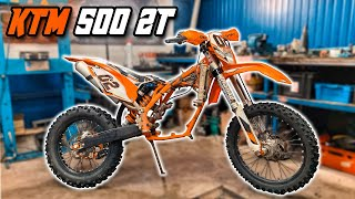 BUILD KTM 500cc 2 STROKE ! BRC KIT