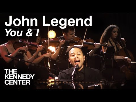 John Legend  You & I   at The Kennedy Center