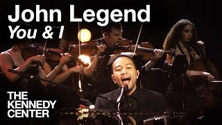 "John Legend, ""You & I"" -- Live at the Kennedy Center"