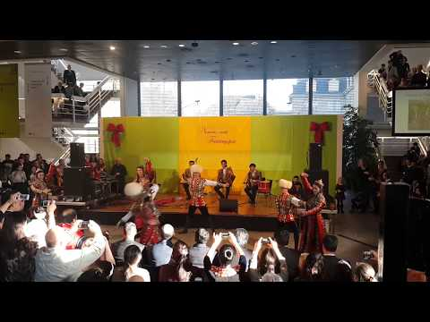 Turkmen traditional dance - Berlin(2015)
