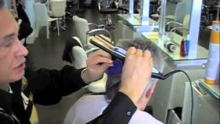 Keratin Application for Men