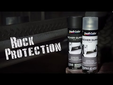 Dupli Color How To Rocker Guard Coating Youtube