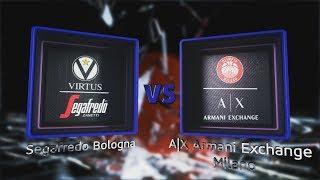 Highlights/ Segafredo Virtus Bologna - A|X Armani Exchange Milano 2° turno LBA Serie A PosteMobile