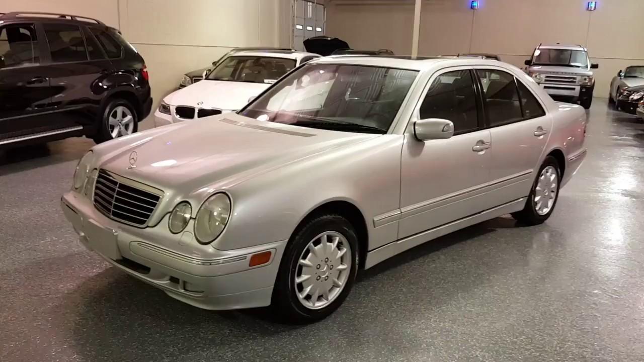 2001 Mercedes Benz E320 SOLD (#2579) Plymouth, MI