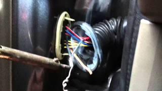 Jeep 2004 interior light/windows door jam wiring problem.MOV