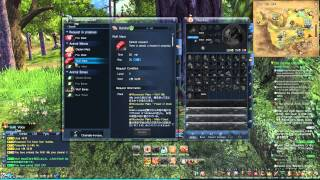 Blade and Soul Crafting and Gathering Tutorial