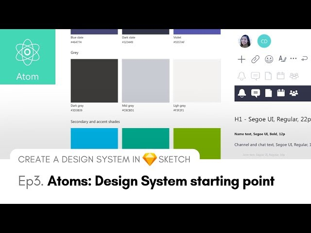 Atoms - Create a Design System in Sketch, Ep3