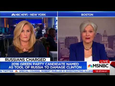 Asked about Russia, Jill Stein blasts media, DNC for rigging the election