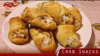 Cream Cheese Crab Puff Snacks