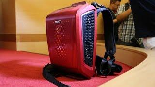 تجربتي مع MSI Backpack PC:حقيبة ظهر بداخلها حاسب؟