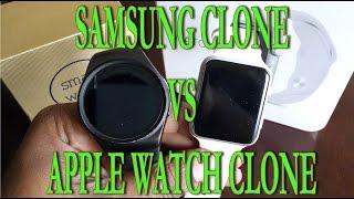 Samsung Gear 2 Clone vs Apple Watch Clone. KW18 vs IWO: version 1 (part1)