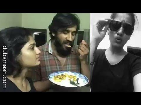 ചിന്നുവും ക്വീൻ നായകന്മാരും കിടു ഡബ്സ്മാഷ് | Queen Malayalam Movie Actress Saniya Iyappan Dubsmash