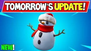 *NEW* Fortnite Is About to Get CRAZY... (EVERYTHING in Tomorrow's Update! V7.21)