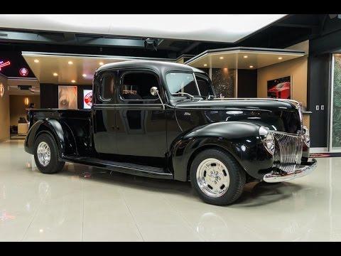 1940 ford pickup for sale youtube. Black Bedroom Furniture Sets. Home Design Ideas