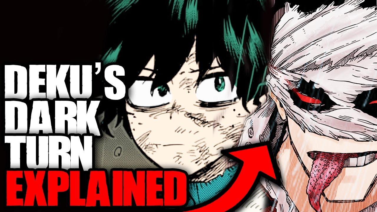 Deku's Dark Turn Explained / My Hero Academia Chapter 317