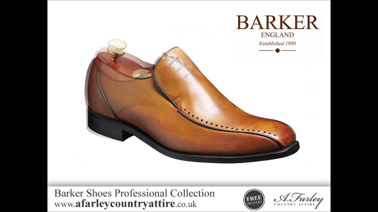 d2493993d4928 Barker Shoes Professional Collection - English Made Leather Shoes ...