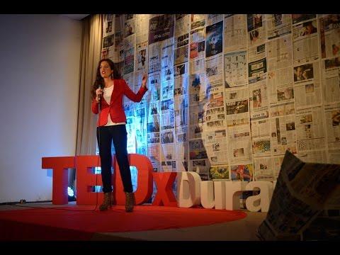 Seguir un camino apasionante y no desalentarse en el intento: Victoria Alonsoperez at TEDxDurazno