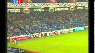 C1 : Glasgow Rangers - Auxerre (1-2) - 25 septembre 1996
