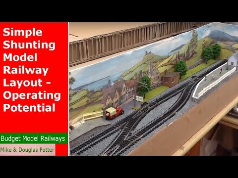 How To Make A Simple Shunting / Switching Model Railway Layout Part Three - Operating Potential
