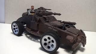 Mad Max uslubi mashina. O'zlari ko'rib, bir mo'ylov bilan