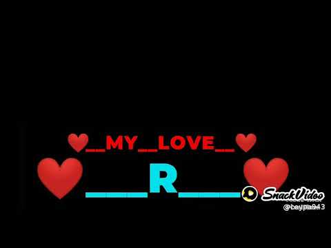R letter video