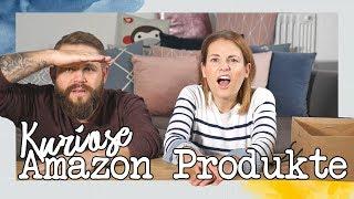Wir testen die 5 kuriosesten Artikel von Amazon / Familie M.