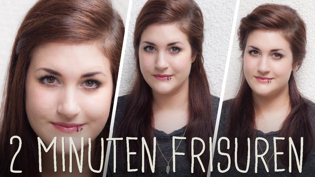 Frisuren Für Dünne Haare 3 Mega Einfache Alltagsfrisuren YouTube