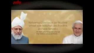2012-12-21 Kirchen in islamischen Ländern - Eine Botschaft an Papst Benedikt und an alle Christen