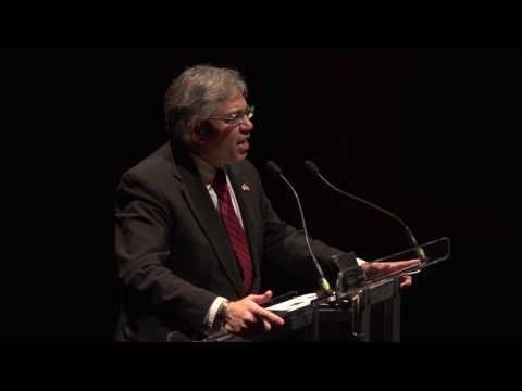 Dr. Kishor Wasan speaks at Sam Sullivan's February 2014 Public Salon