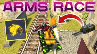 Tanki Online - Arms Race Event Montage!  + New BO-NK Turret!