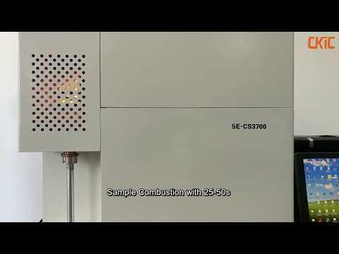 5E CS3700 Carbon Sulfur Analyzer