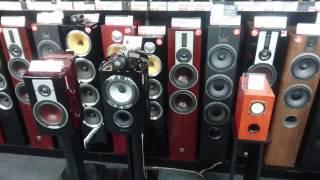 Audio section in Yodobashi - Shinjuku West Store