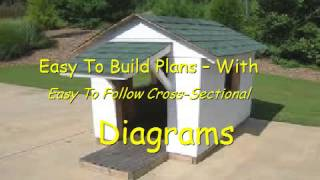 How To Build A Dog House Easy