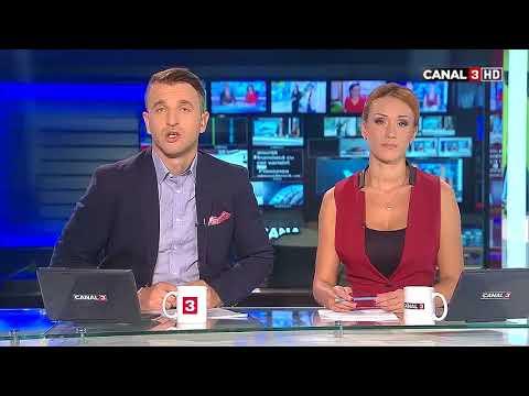 Știrile dimineții la CANAL 3, 28 09 2016