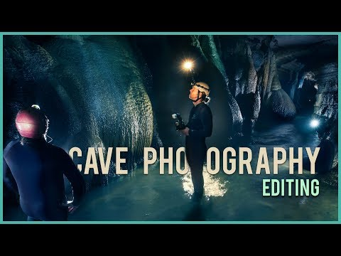 Creating CAVE PHOTOS with multiple STACKED shots! Detailed Photoshop Workflow.