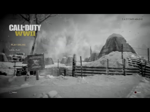 WILL-BOOTYMAN's LivePS4 Broadcasting CALL OF DUTY WW2 (zombies) (Grind for 300)