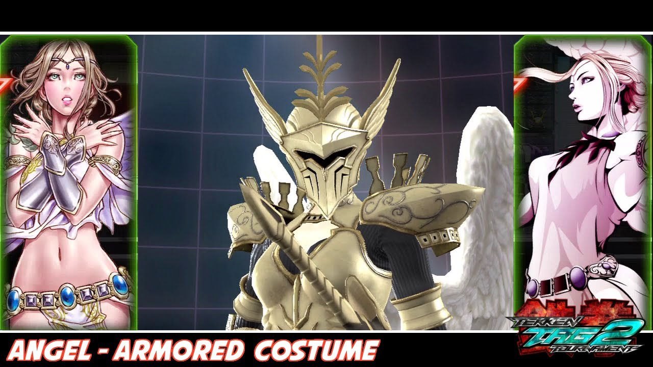 Tekken tag tournament 2 angel armored costume youtube