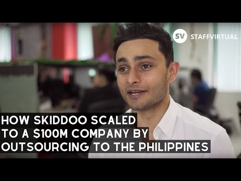 How Skiddoo Scaled To A $100 Million Company Outsourcing With STAFFVIRTUAL