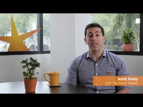 The Trevor Project Names New CEO: Amit Paley - YouTube