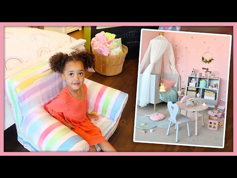 Shopping for Ziya's New Bedroom Furniture! | MOM VLOG