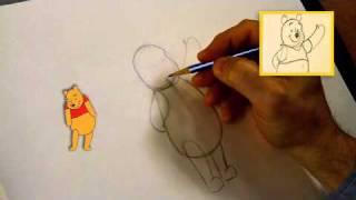 Winnie the Pooh - Learn How to Draw Winnie