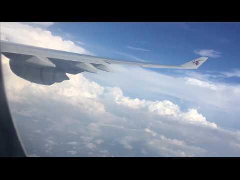Qatar airways flight QR 654 Doha to Colombo Landing