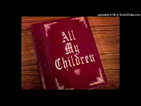 All My Children Full 1990-94 Closing Theme