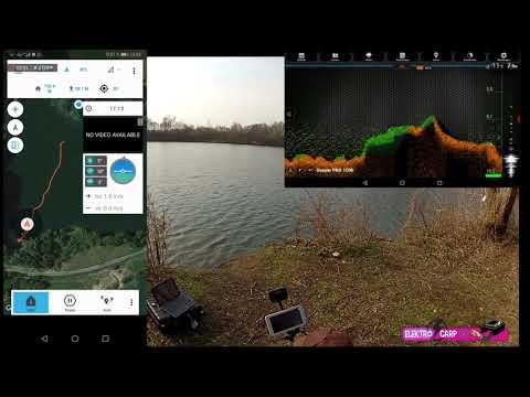 Testfahrt mit DEEPER Pro in verbindung extra Tablet