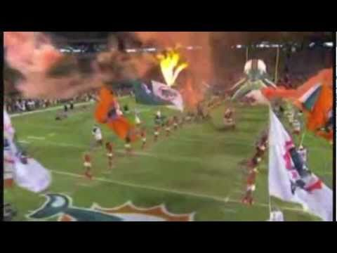 The Best Miami Dolphins Highlight Video w/ T-Pain's Miami Dolphin fight song remix